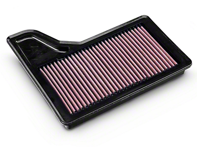K&N Drop-In Replacement Air Filter (15-18 GT, EcoBoost, V6)