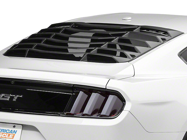 MMD ABS Rear Window Louvers (15-21 Fastback)