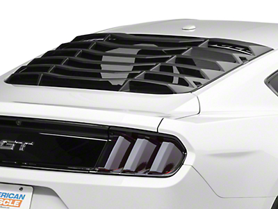 MMD ABS Rear Window Louvers (15-17 Fastback)