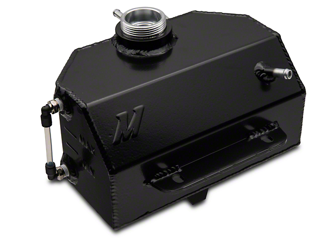 Mishimoto Aluminum Coolant Expansion Tank - Black (15-20 All)