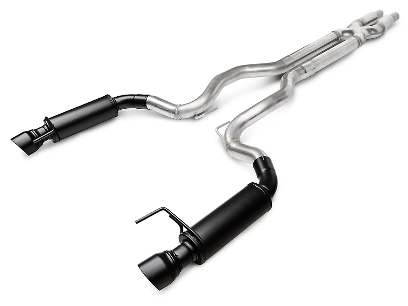 Magnaflow Competition Cat-Back Exhaust - Black Tips (15-17 GT)