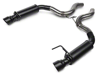 Magnaflow Competition Axle-Back Exhaust - Black Tips (15-17 GT)