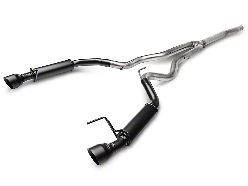 Magnaflow Competition Cat-Back Exhaust - Black Tips (15-19 EcoBoost w/o Active Exhaust)