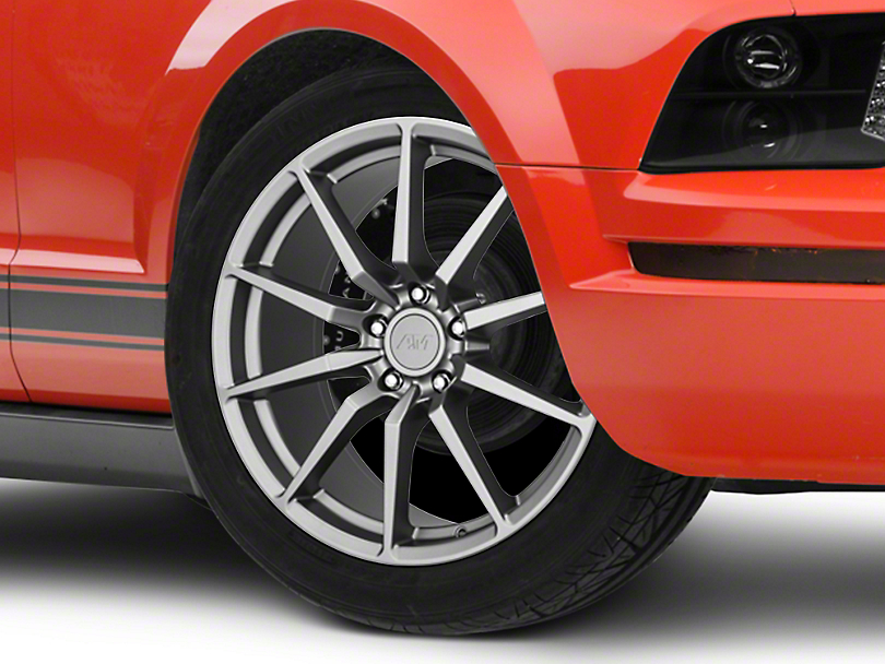 GT350 Style Charcoal Wheel - 19x8.5 (05-14 All)