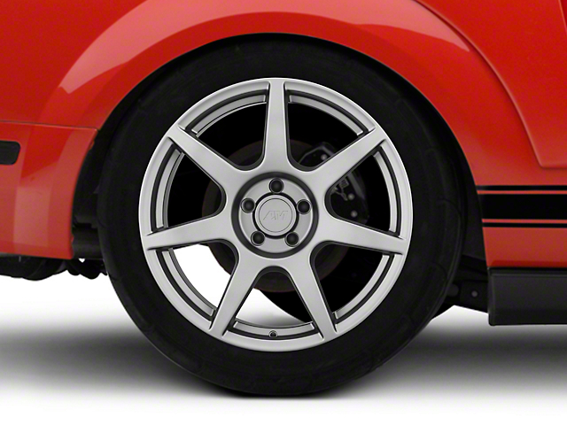 GT350R Style Charcoal Wheel; Rear Only; 19x10 (05-09 All)
