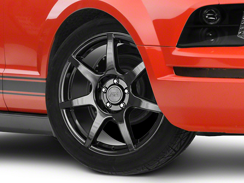 GT350R Style Black Wheel - 19x8.5 (05-14 All)