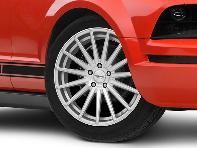 Vossen VFS/2 Silver Polished Wheel - 19x8.5 (05-14 Standard GT, V6)