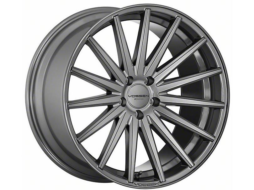 Vossen VFS-2 Gloss Graphite Wheel - 19x8.5 (15-19 Standard GT, EcoBoost, V6)