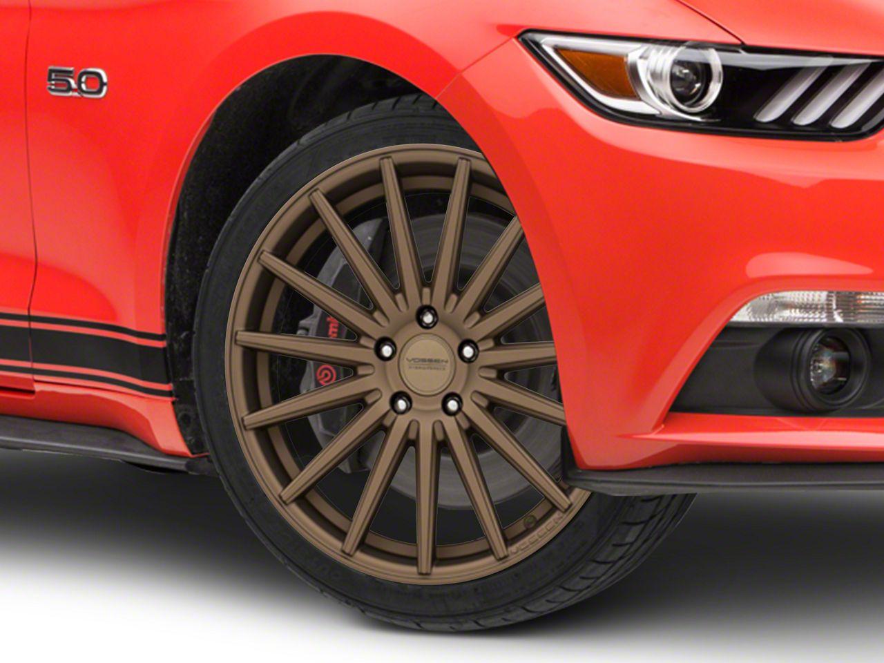 Vossen VFS/2 Satin Bronze Wheel - 19x8.5 (15-19 Standard GT, EcoBoost, V6)