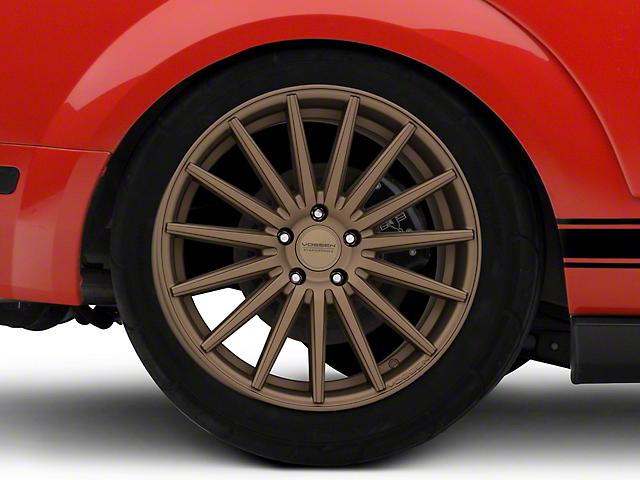 Vossen VFS/2 Satin Bronze Wheel - 19x10 - Rear Only (05-14 Standard GT, V6)