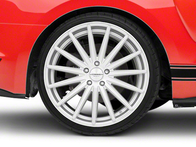 Vossen VFS-2 Silver Polished Wheel - 20x10.5 - Rear Only (15-20 GT, EcoBoost, V6)