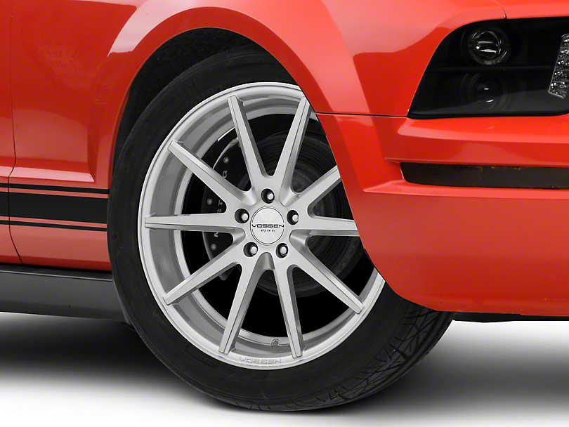 Vossen VFS/1 Silver Brushed Wheel - 19x8.5 (05-14 All)