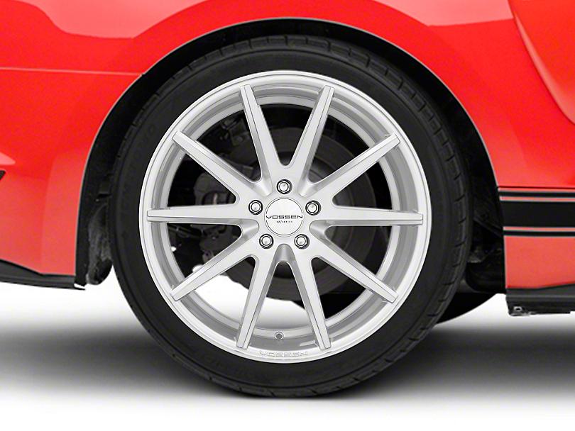 Vossen VFS/1 Silver Brushed Wheel - 19x10 (15-18 Standard GT, EcoBoost, V6)