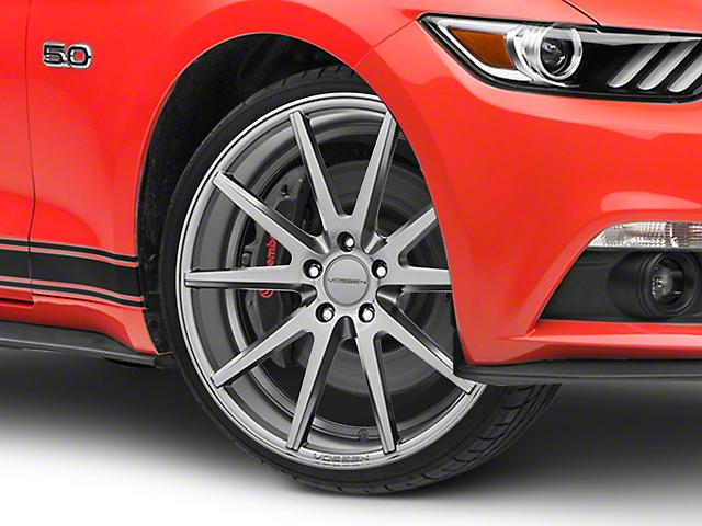 Vossen VFS/1 Matte Graphite Wheel - 19x8.5 (15-19 Standard GT, EcoBoost, V6)