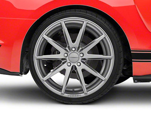 Vossen VFS/1 Matte Graphite Wheel - 19x10 (15-18 Standard GT, EcoBoost, V6)