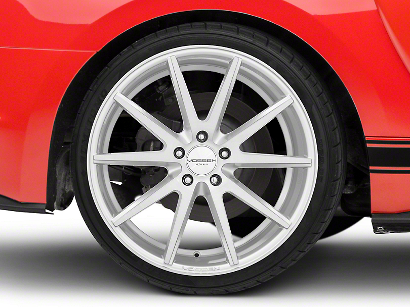 Vossen VFS/1 Silver Brushed Wheel - 20x10.5 - Rear Only (15-19 GT, EcoBoost, V6)