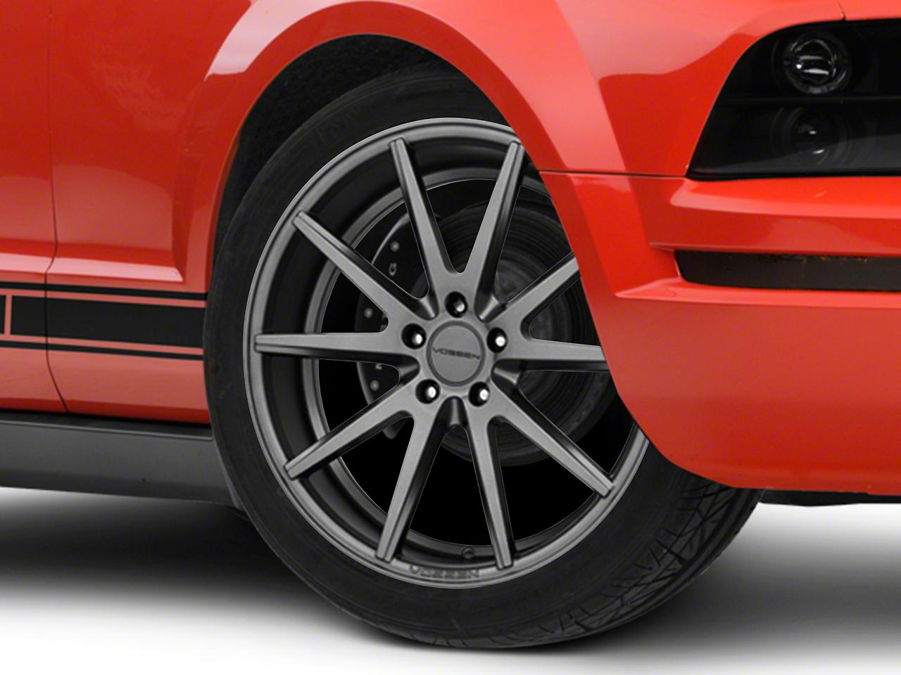 Vossen VFS/1 Matte Graphite Wheel - 20x9 (05-14 All)