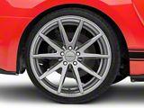 Vossen VFS-1 Matte Graphite Wheel; Rear Only; 20x10.5 (15-20 GT, EcoBoost, V6)
