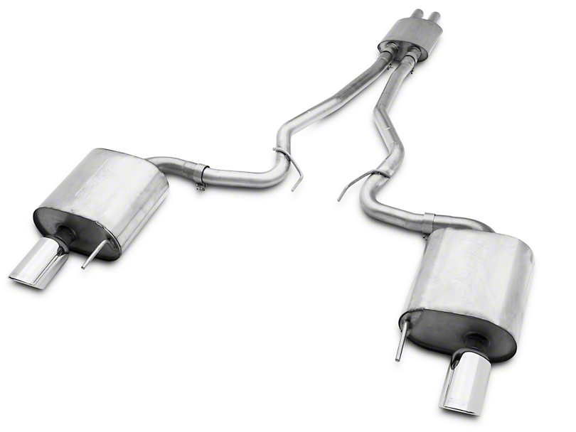 Borla Stinger S-Type Cat-Back Exhaust (15-17 V6 Fastback)