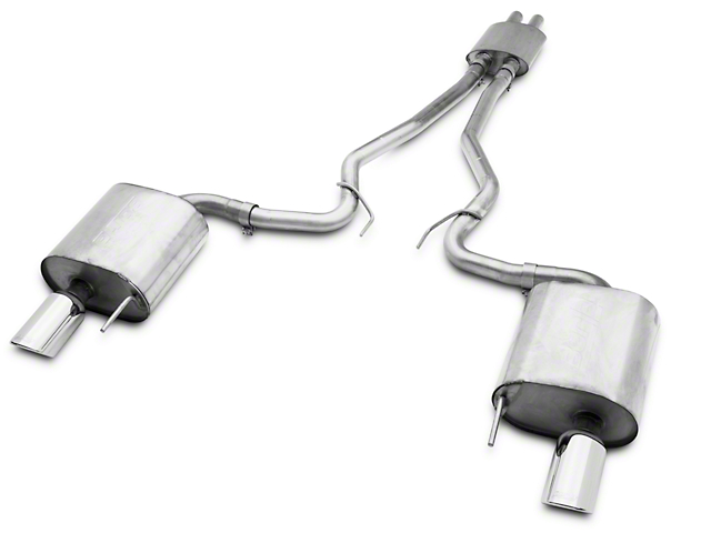 Borla Stinger S-Type Cat-Back Exhaust with Polished Tips (15-17 V6 Fastback)