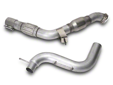 BBK Down Pipe - Off-Road (15-17 EcoBoost)
