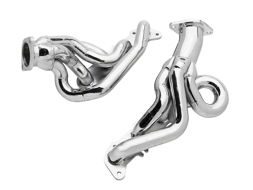 BBK 1-3/4 in. Chrome Tuned Length Shorty Headers (15-17 GT)