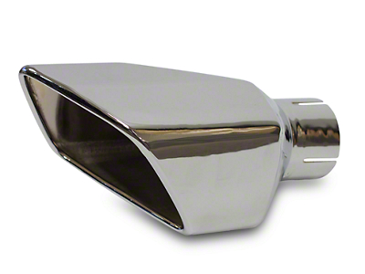 Roush Square Exhaust Tip - Left Side (11-12 GT, GT500)