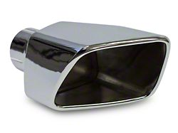 Roush Square Exhaust Tip - Right Side (11-12 GT, GT500)