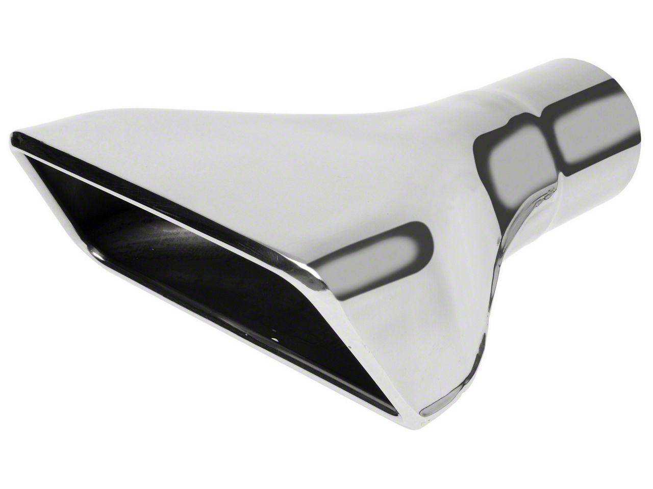 Roush Rectangular Exhaust Tip - Driver Side (05-09 GT)