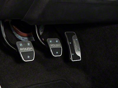 Roush 4-Piece Performance Pedal Kit (15-17 w/ Manual Transmission)