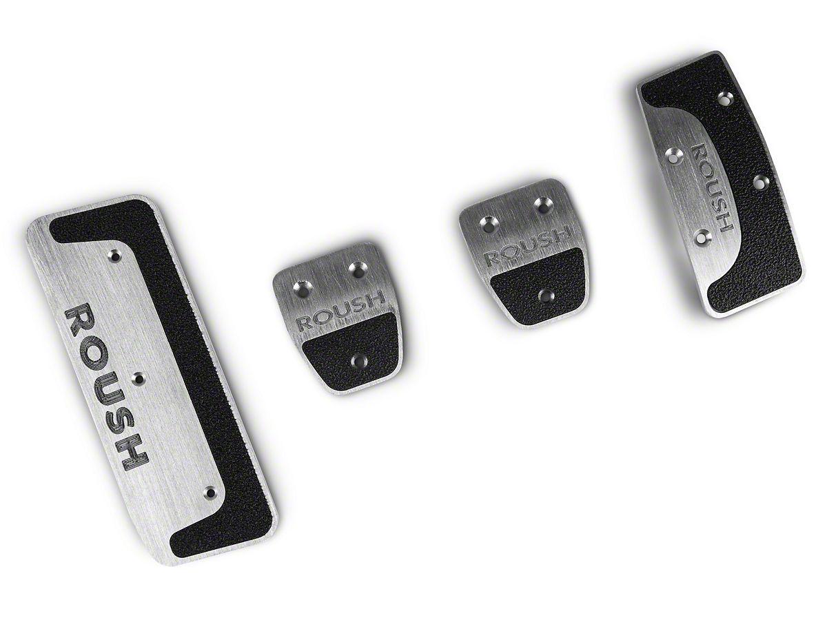 Roush 4-Piece Performance Pedal Kit (15-20 w/ Manual Transmission)