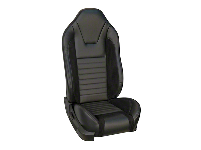 TMI Sport R Style Full Seat Upholstery & Front Bucket Foam w/ Airbags (05-10 GT Coupe, V6 Coupe)