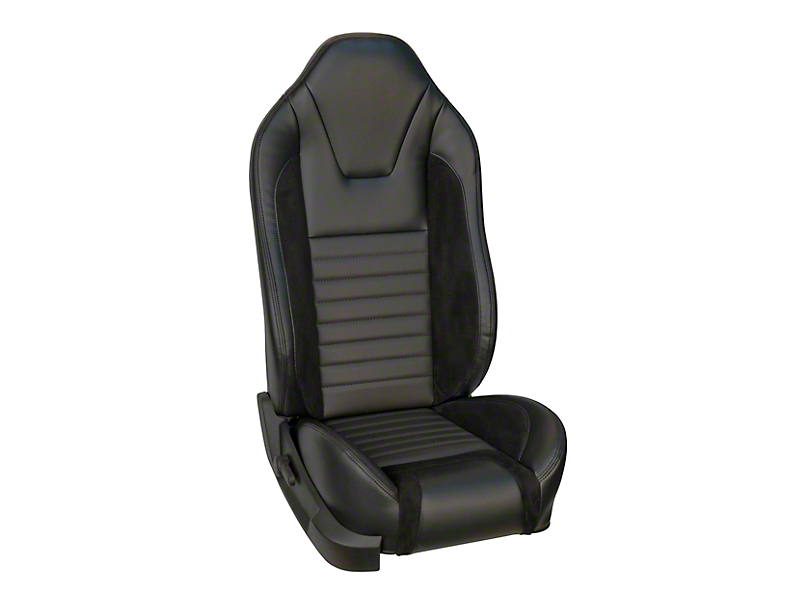 TMI Sport R Style Full Seat Upholstery & Front Bucket Foam w/ Airbags (13-14 GT Coupe, V6 Coupe)
