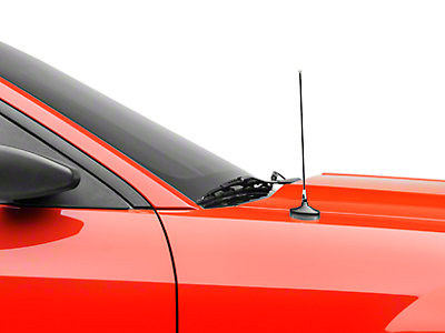 SpeedForm Adjustable Length Fixed Antenna - Chrome (79-09 All)