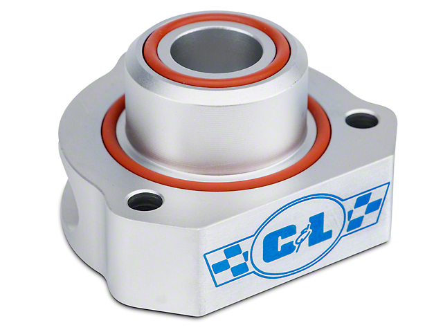 C&L Bypass Valve Adapter; Aluminum (15-20 EcoBoost)