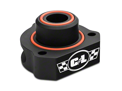 C&L Bypass Valve Adapter - Black (15-18 EcoBoost)