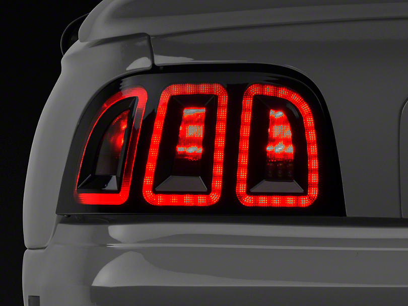 Raxiom Mustang Icon Led Tail Light 389876 96 98 All