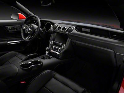 American Muscle Graphics Carbon Fiber Dash Kit (15-19 All)