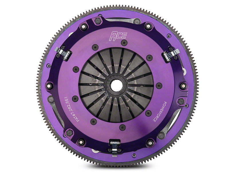 ACE Racing PowerForce Twin Disc Clutch w/ Flywheel (13-14 GT500)