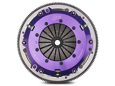 ACE Racing PowerForce Twin Disc Clutch w/ 8-Bolt Flywheel (99-Mid 01 GT; 03-04 Cobra; 03-04 Mach 1)