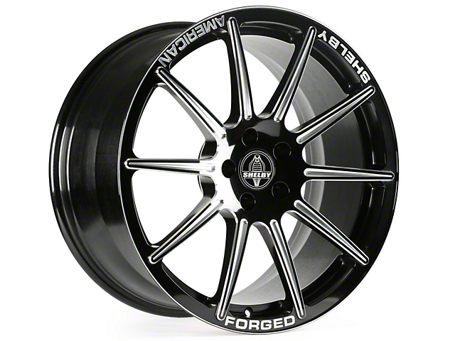 Shelby Venice Black Machined Wheel - 20x9.5 (15-17 All)
