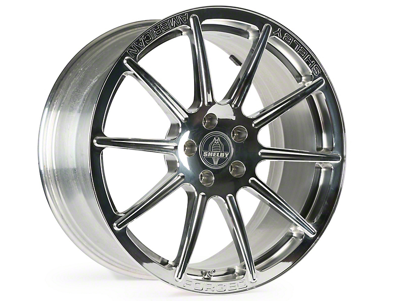 Shelby Venice Polished Wheel - 20x9.5 (15-17 All)