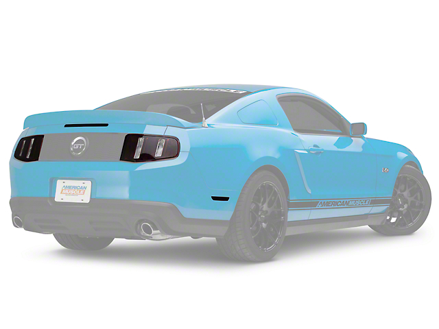 American Muscle Graphics Light Tint; Smoked (10-12 All)