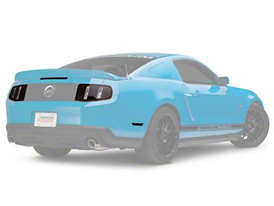 2013//2014 Mustang **GREEN** GT Fog light Vinyl Tint /> perfectly cut to fit