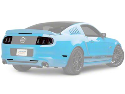 American Muscle Graphics Smoked Tint Kit (13-14 All)