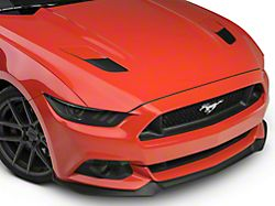 American Muscle Graphics Hood Vent Accent Decals - Matte Black (15-17 GT)