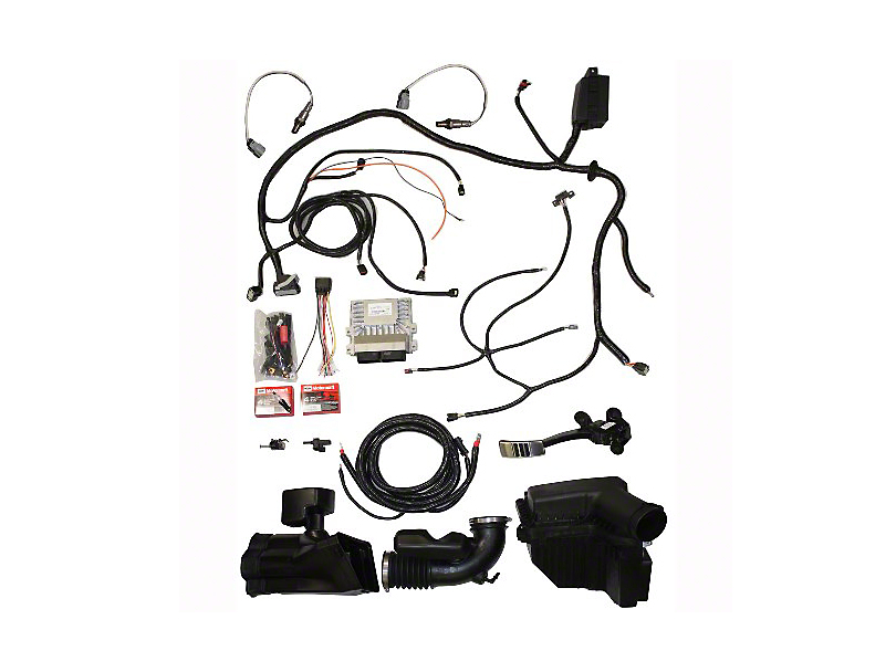 389947?$enlarged810x608$ ford performance mustang coyote 5 0l 4v crate engine control pack coyote wiring harness at gsmx.co