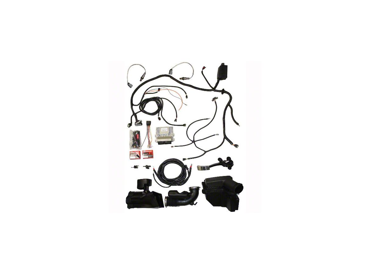 Ford Performance Coyote 5 0L 4V Crate Engine Control Pack (15-17 GT w/  Manual Transmission)