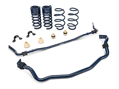 Ford Performance Street Front & Rear Sway Bar & Spring Kit (15-17 GT Fastback, EcoBoost Fastback)