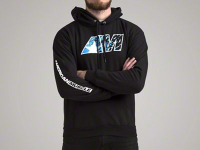 Mens AM Shatter Hoodie - Large
